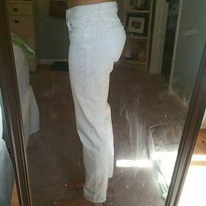 White Skinny Jeans size 26